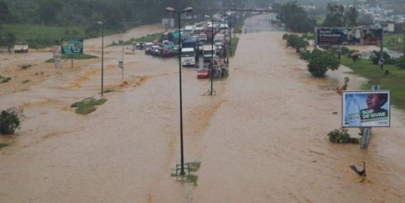 Les pluies diluviennes à Abidjan font des dégâts. (DR)