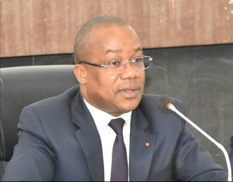 Brice Kouassi, secrétaire d'État chargé de l'Enseignement technique et de la Formation professionnelle. (DR)