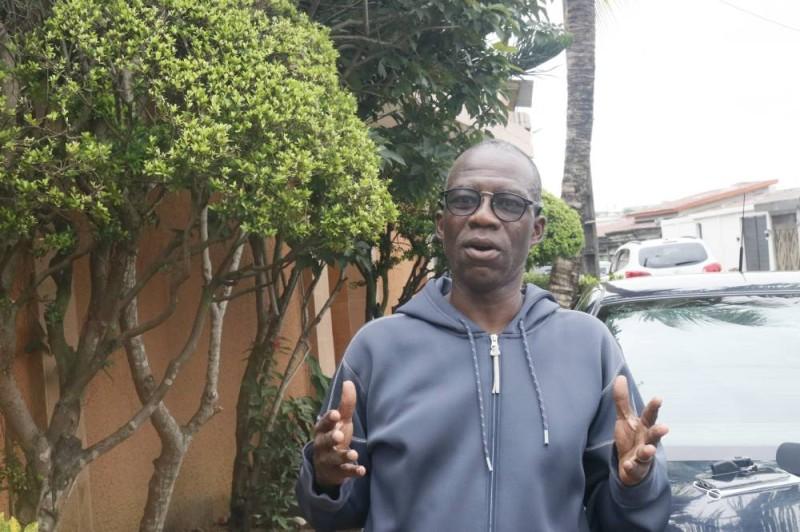 M. Konaté Bakary président du syndic. (Bavane)