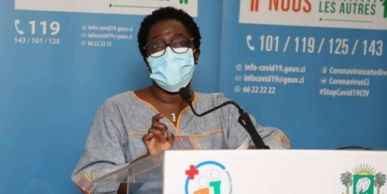 Le conseiller technique du ministère de la Santé et de l'Hygiène publique, Dr Édith Kouassy. (DR)