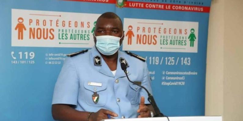 Le commissaire Allali Kouassi. (DR)