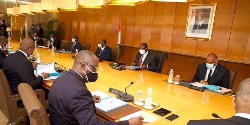 Un Conseil des ministres extraordinaire s'est tenu ce mardi au Palais présidentiel à Abidjan. (Dr)