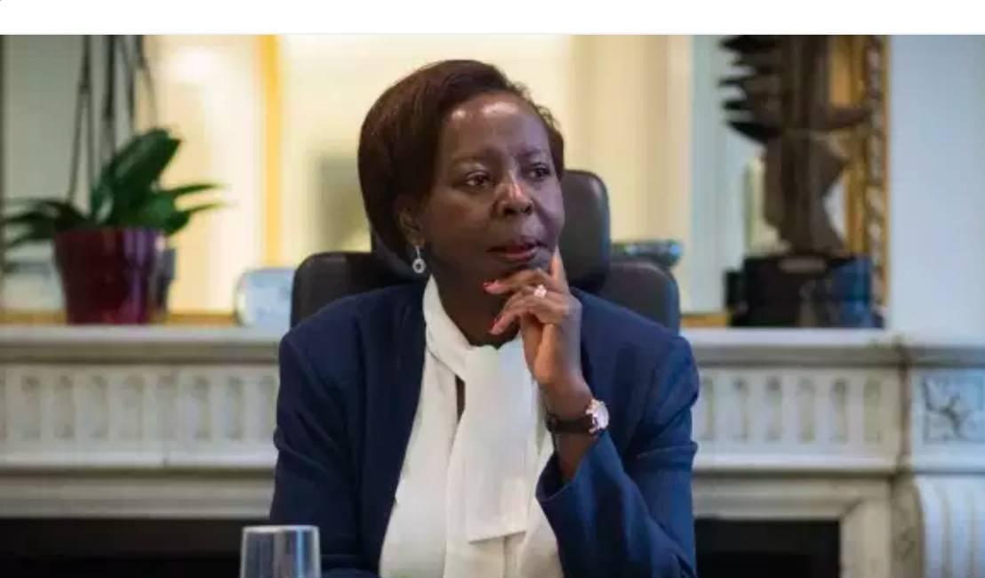 La secrétaire générale de l'OIF, Louise Mushikiwabo, à Paris.