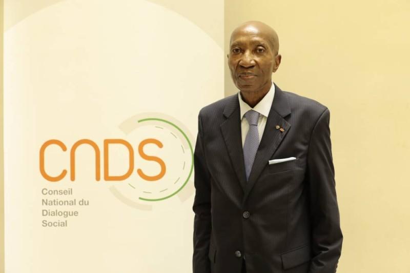 Phto Bernard N'doumi président du Cnds (DR)