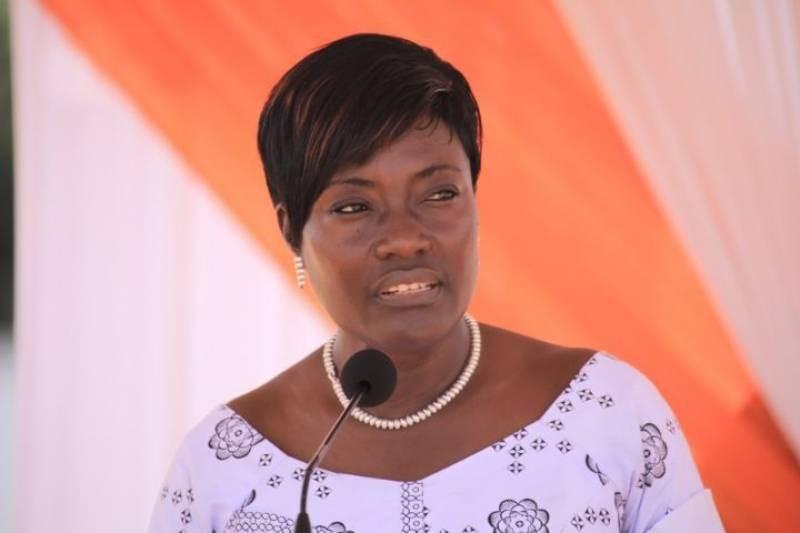 Mariatou Koné, ministre de la Solidarité, de la Cohésion sociale et la Lutte contre la pauvreté. (DR)