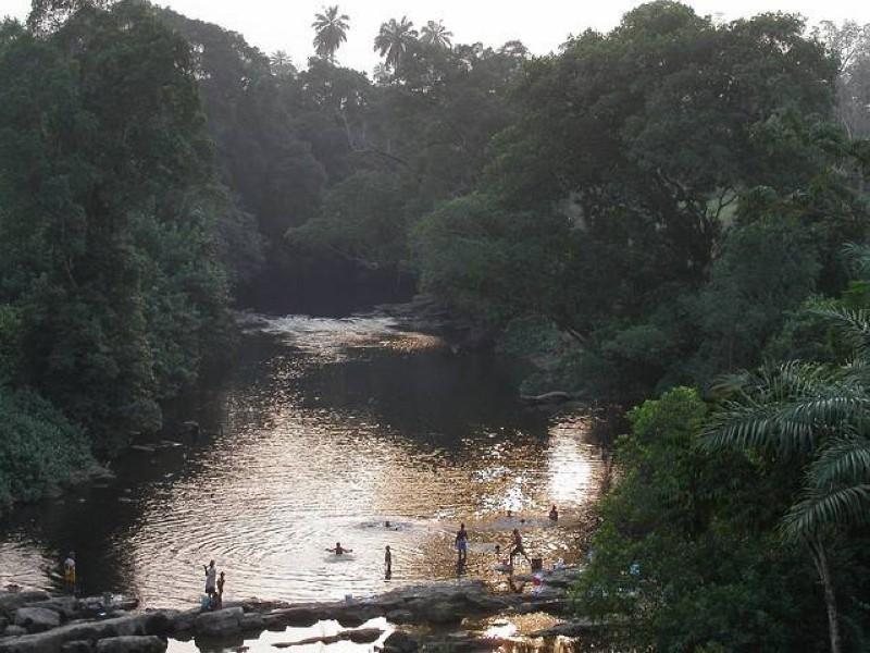 Cross river située entre le Nigéria et le Cameroun. (DR)