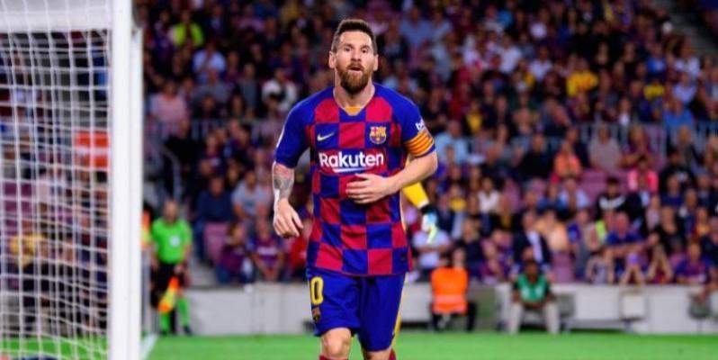 Messi enchaîne les performances en dépit des difficultés du Fc Barcelone. (DR)