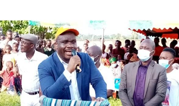 Le député de Bin-Houyé et Goulaleu, Danin Magloire, promet une victoire écrasante au candidat du Rhdp. (DR)