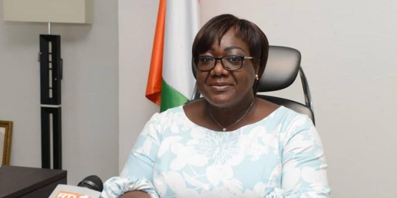 Anne Désirée Ouloto, ministre de l'Assainissement et de la Salubrité. (DR)