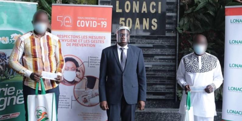 Dramane Coulibaly, Directeur général, au centre a félicité les gagnants. (DR)