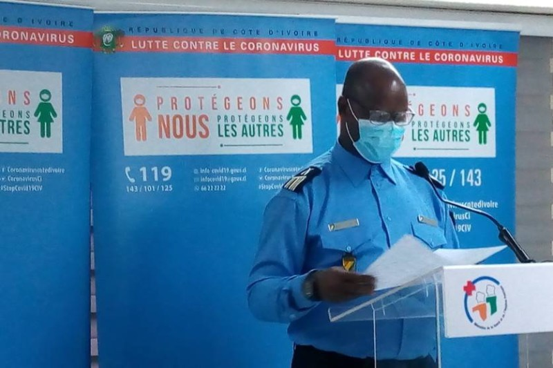 Le commissaire principal Bleu Charlemagne, porte-parole de la Police nationale. (DR)