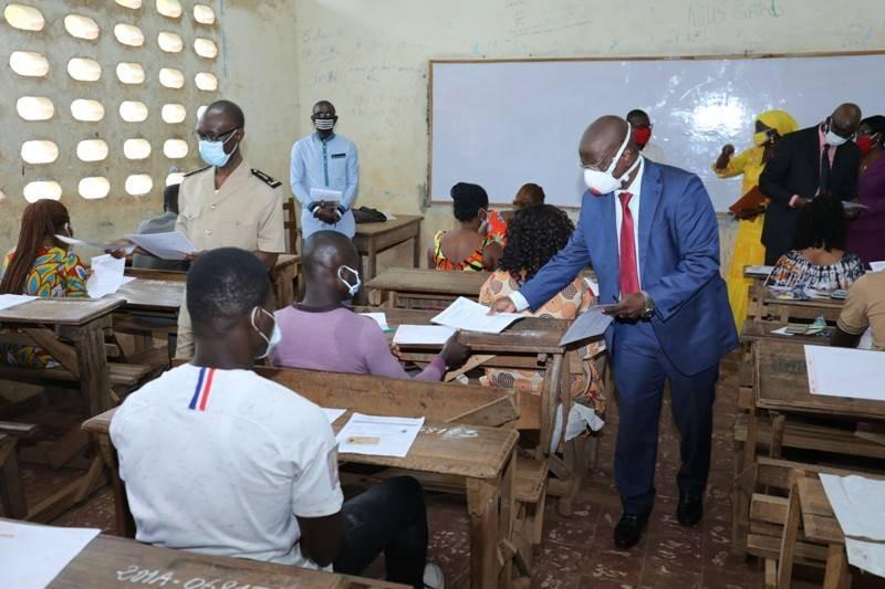 Le chef de cabinet Abdoulaye Kouyaté a donné le top départ du concours à Gagnoa. (DR)