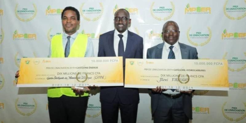 Six mois après la finale de la première édition du prix de l'innovation édition 2019, Abdourahmane Cissé a rendu visite, le 2 juillet, aux entreprises lauréates. (ph d'Archives)