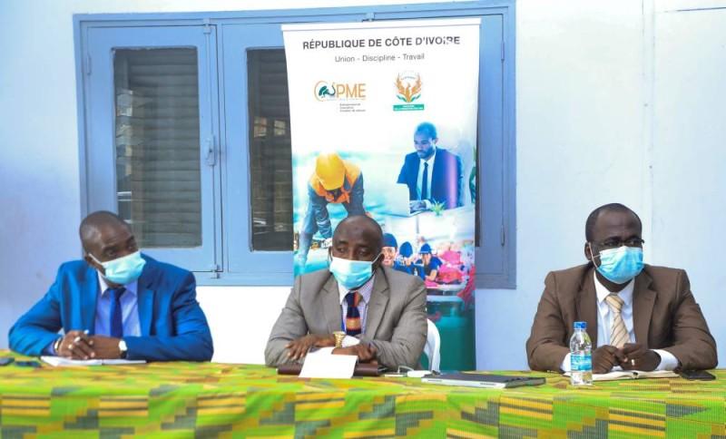 L'Agence Côte d'Ivoire PME à la rencontre du Haut Conseil du Patronat des entreprises de transport