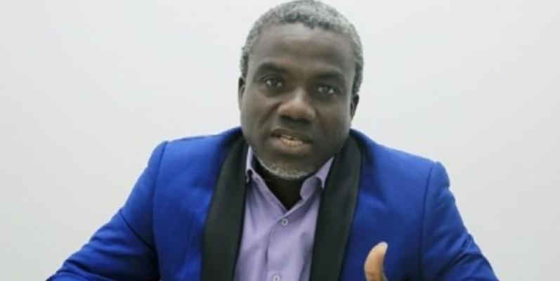 Jean-Yves-Dibopieu, ancien secrétaire général de la Fédération estudiantine et scolaire de Côte d'Ivoire (Fesci), annonce sa candidature pour la présidentielle 2020. (DR)