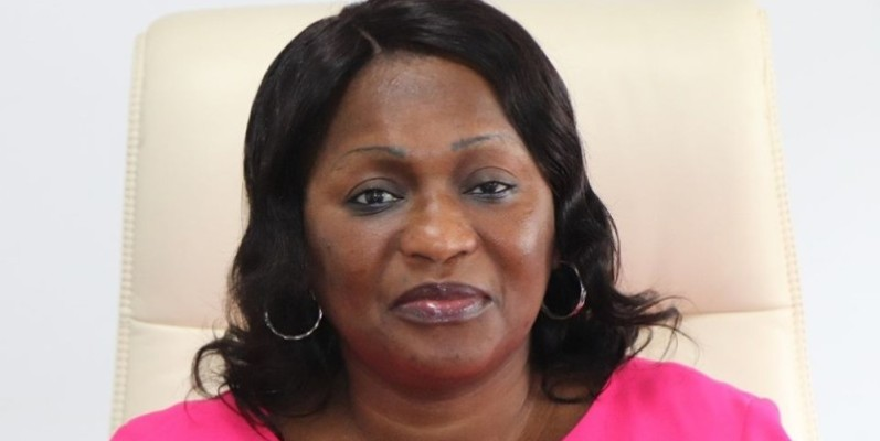 Namizata Sangaré, présidente du Cndh. (photos : Dr)