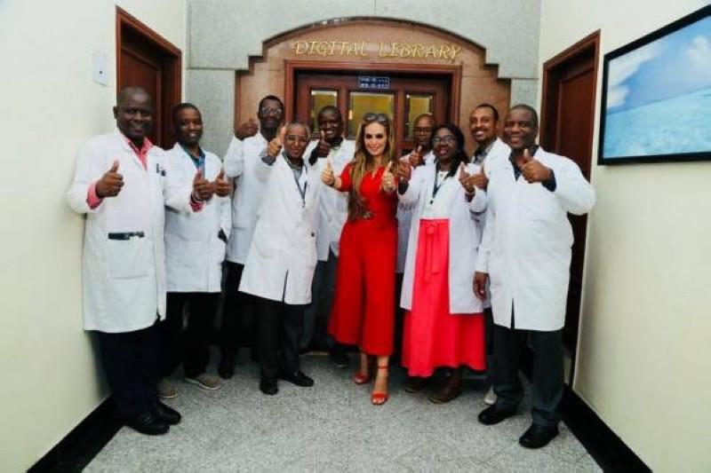 Lutte contre le cancer.  La Fondation Merck s'associe aux Premières Dames Africaines