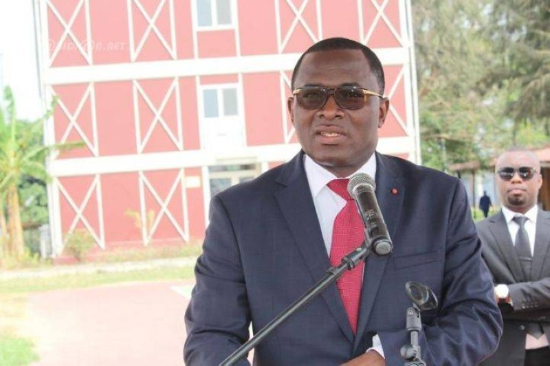 Le ministre Danho Paulin a demandé aux étudiants et à leurs encadreurs d'être prudents.