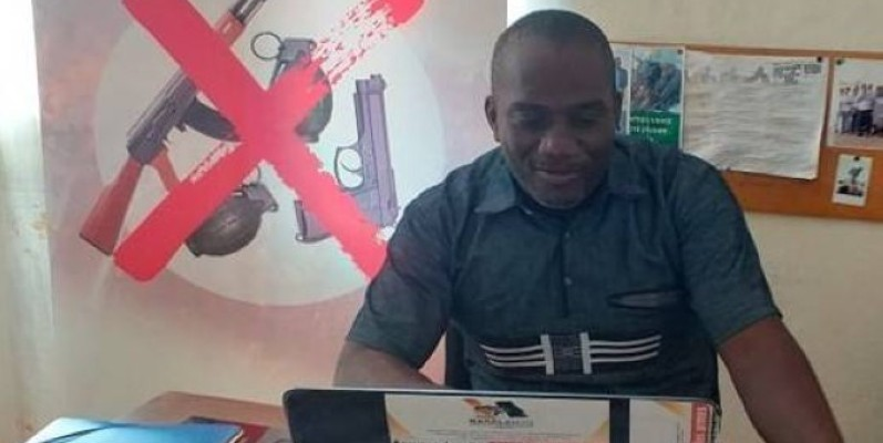 N'Tayé Aka Victorien, Secrétaire général de RASALAO_CI.(DR),