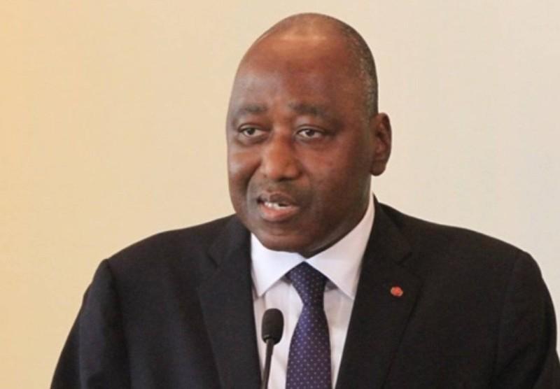 Le Premier ministre Amadou Gon Coulibaly, décédé le mercredi 8 juillet 2020. (DR)