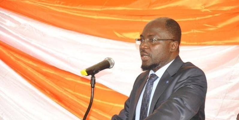 Lazare Poamé, président de l'Université AO, a mis en place un plan de riposte contre le coronavirus afin que les cours soient dispensés. (DR)