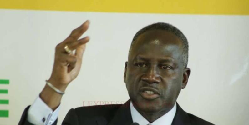 Adama Bictogo, le directeur exécutif du Rhdp, appelle les militants et sympathisants de son parti à rester stoïques devant la disparition de Gon Coulibaly. (DR)
