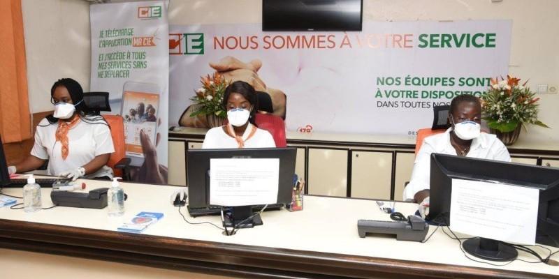 La Compagnie ivoirienne d'électricité (Cie) se tient à la disposition de ses clients pour d'éventuelles réclamations. (DR)