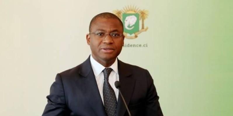 Sidi Tiémoko Touré, porte-parole du gouvernement ivoirien.