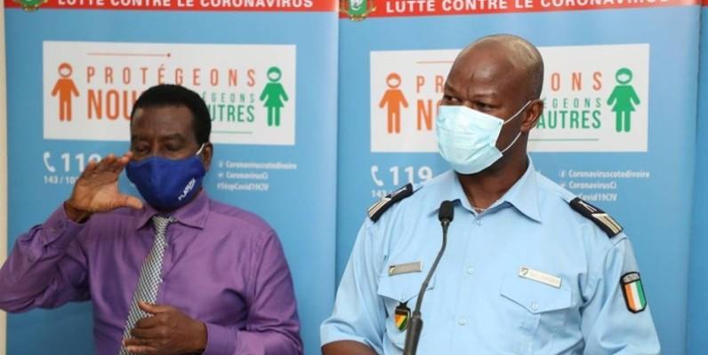 Le porte-parole de la Police nationale, le commissaire principal Charlemagne Bleu. (DR)