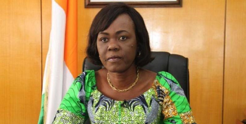 Nialé Kaba, ministre du Plan et du Développement, a lu la déclaration du gouvernement. (DR)