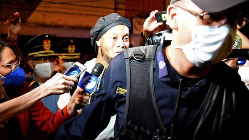 Ronaldinho reste à résidence surveillé (DR)