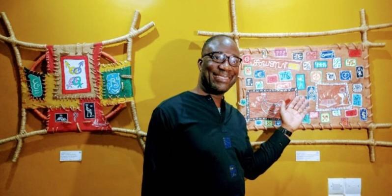L'artiste Jacobleu, promoteur des Riana. (DR)