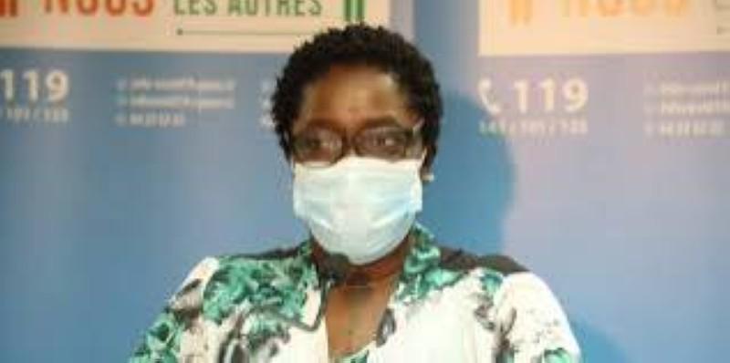 Dr Édith Kouassy, conseiller du ministre de la Santé et de l'Hygiène publique. (DR)
