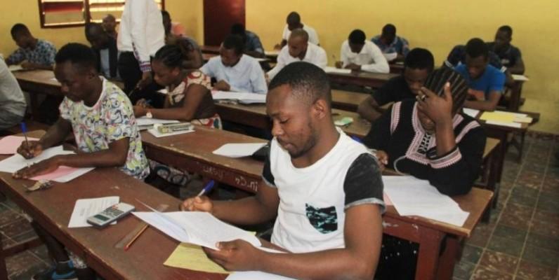 Des étudiants en composition. (DR)