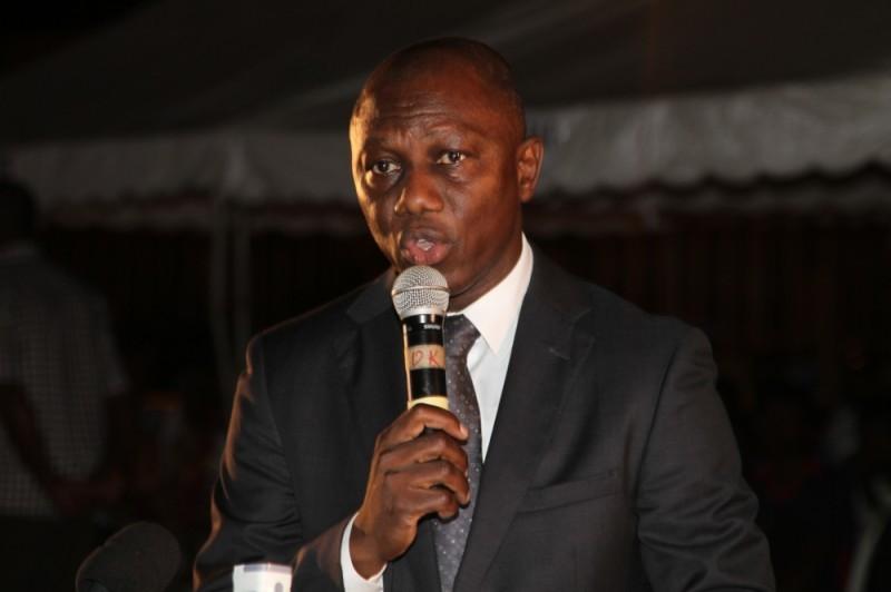 Sory Diabaté, Candidat à la présidence de la Fédération ivoirienne de football. (DR)
