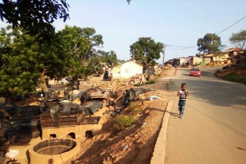 Le bidonville abritant des pêcheurs sera délocalisé. (DR)