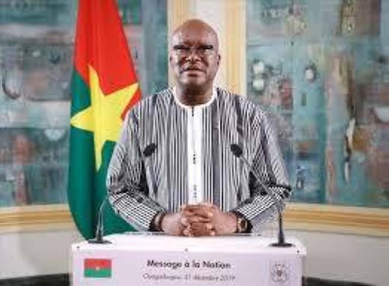 Le président Rock Marc Christian Kaboré du Faso
