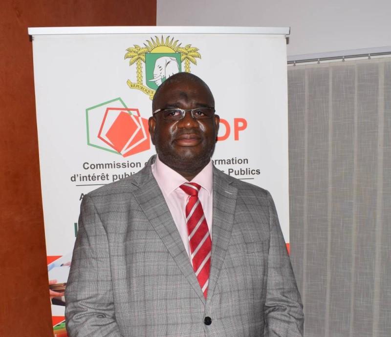 Koné Mamadou, secrétaire général de la Caidp. (DR)