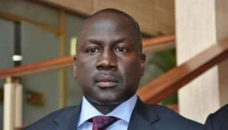 Directeur exécutif du Rhdp, Adama Bicogo. (DR)