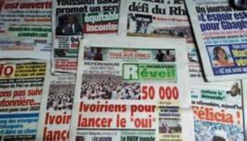Les Agbovillois peuvent acheter de nouveau les journaux. (DR)