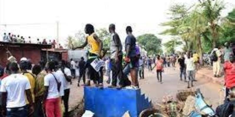 Bamako, le 10 juillet 2020, le Mouvement du 05 juin-Rassemblement des forces patriotiques (M5-Rfp) a organisé un grand rassemblement pour demander le départ du Président IBK.(DR)