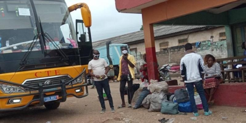 Il y a moins de départs sur Abidjan qu'avant la crise sanitaire.(DR)