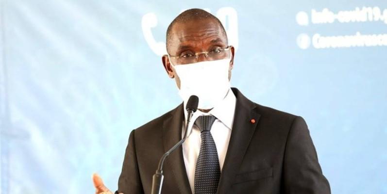 Vagondo Diomandé, ministre de la Sécurité et de la Protection civile. (DR)