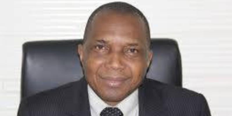 Jean-Claude Kouassi, ministre des Mines et de la Géologie.