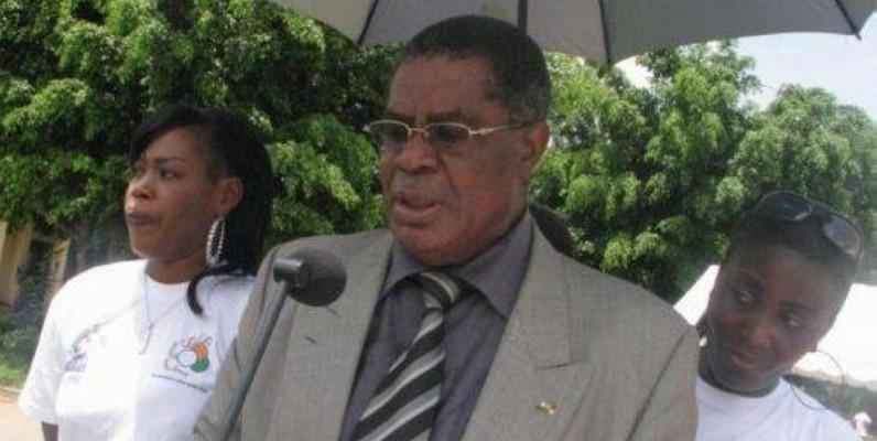 René Diby, président de la commission élecorale de la Fif. (DR)