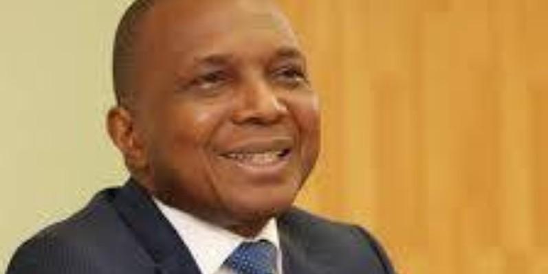 Jean Claude Kouassi, ministre des Mines et de la Géologie. (DR)