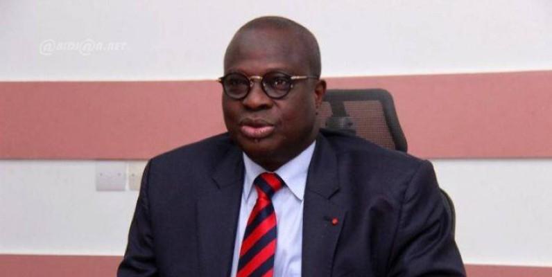 Emmanuel Essis, ministre auprès du Premier ministre chargé de la Promotion de l'investissement privé, était devant les députés de la Caef. (Dr)