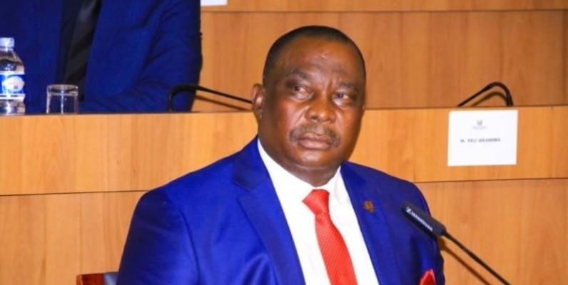 Adjoumani Kouassi Kobenan, ministre de l'agriculture et du développement rural. (DR)
