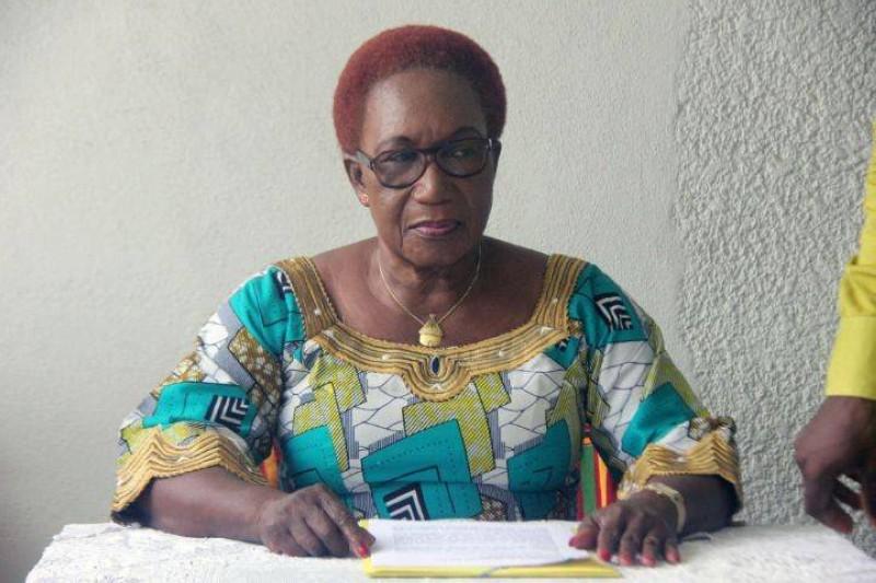 Colette Pellaud Lakpé, présidente du conseil de développement et de solidarité du grand Guibéroua. Ph d'archives