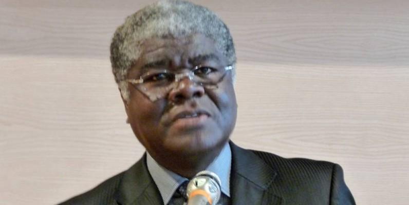 Le ministre-gouverneur du District autonome d'Abidjan, Robert Beugré Mambé, parrain de la première journée. (DR)
